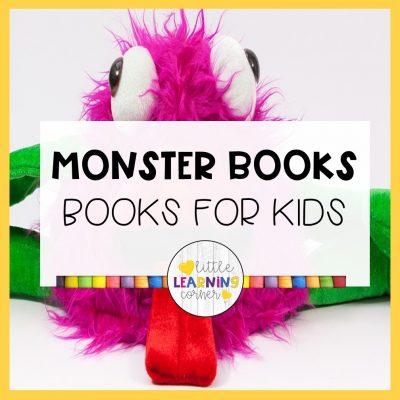 15 Best Monster Books for Kids (Craft )