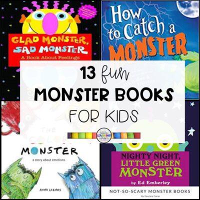 13 Fun Monster Books for Kids