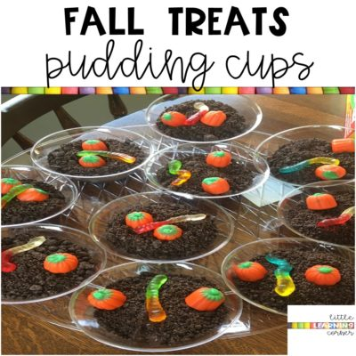 Fall Treats | Pumpkin Patch Pudding Cups