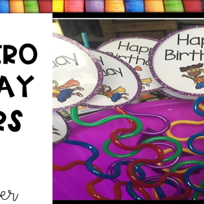 Superhero Birthday Favors