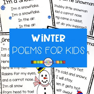 5 Fun Winter Poems for Kids