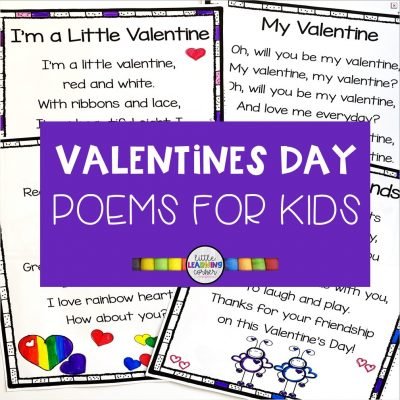 5 Fun Valentines Day Poems for Kids