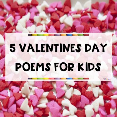 5 Fun Valentine's Day Poems for Kids