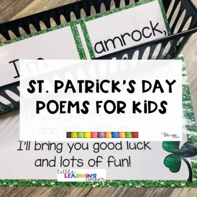 St. Patrick's Day Poems for Kids