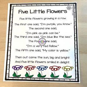 five-little-flowers-poem