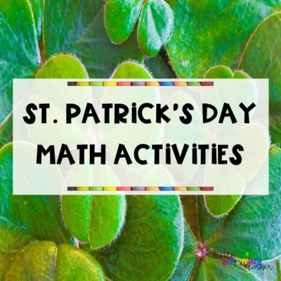 Fun St. Patrick's Day Math Activities