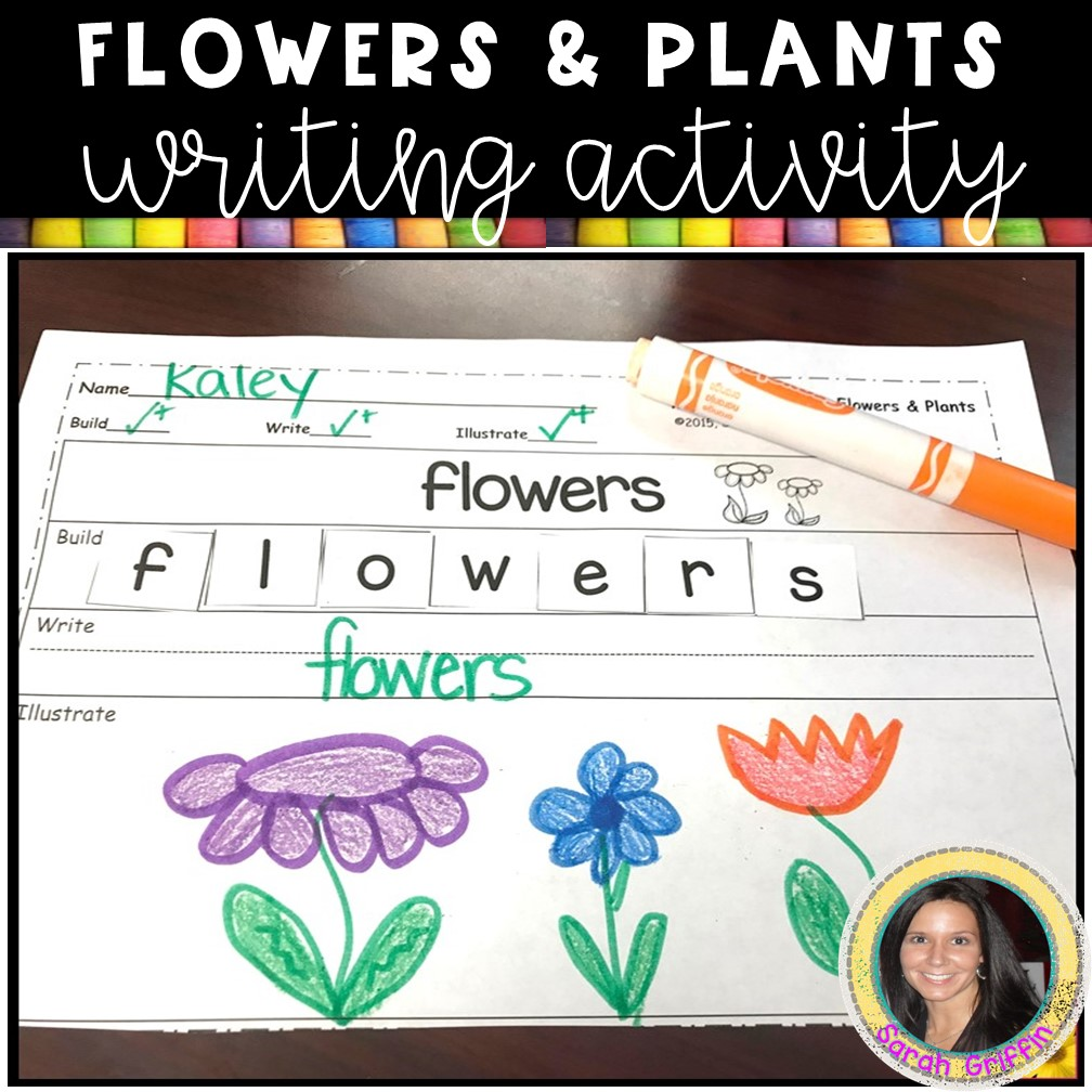 flowers-and-plants-writing-activity