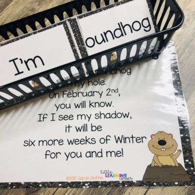 Groundhogs Day Poem for Kids