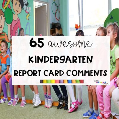 65 Awesome Report Card Comments