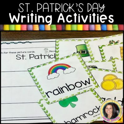 St. Patrick's Day Writing Activities for Kids