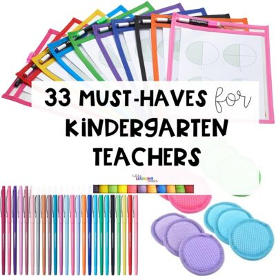 33 Amazon Must-Haves for Kindergarten Teachers