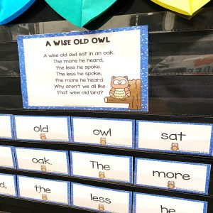a-wise-old-owl-build-a-poem-pocket-chart