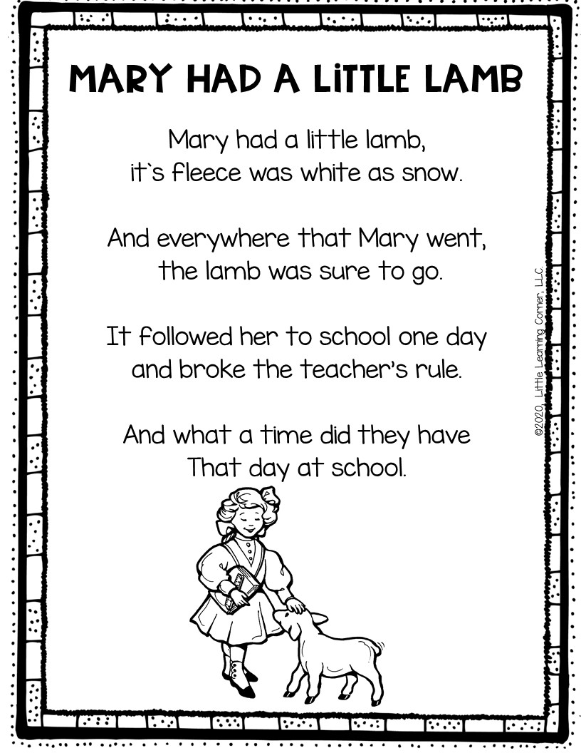 nursery-rhymes-for-kids-mary