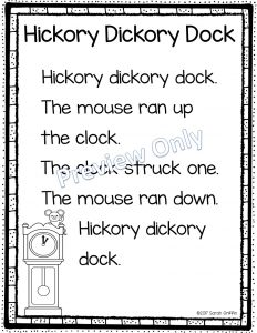 nursery-rhymes-hickory-dickory-dock-example