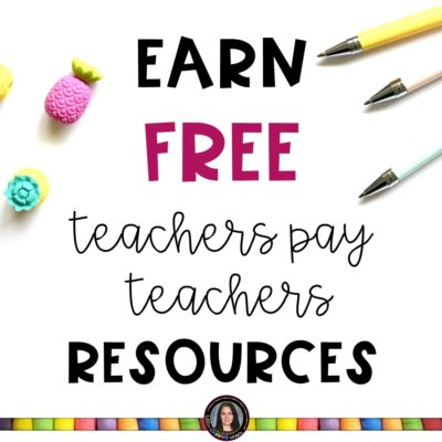 How to Get Free Teachers Pay Teachers Resources