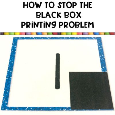 Printing Black Boxes | How to Fix Your Pictures