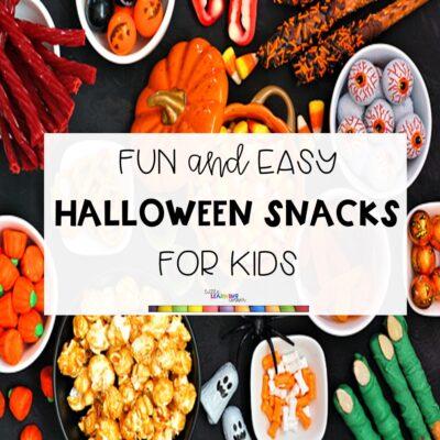 5 Halloween Snacks for Kids