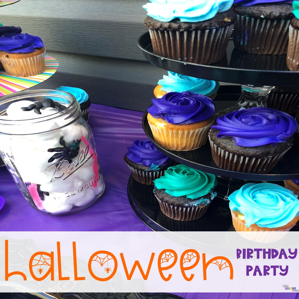 halloween-party-for-kids-cupcakes
