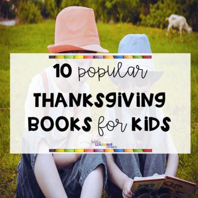 10 Popular Thanksgiving Books for Kids