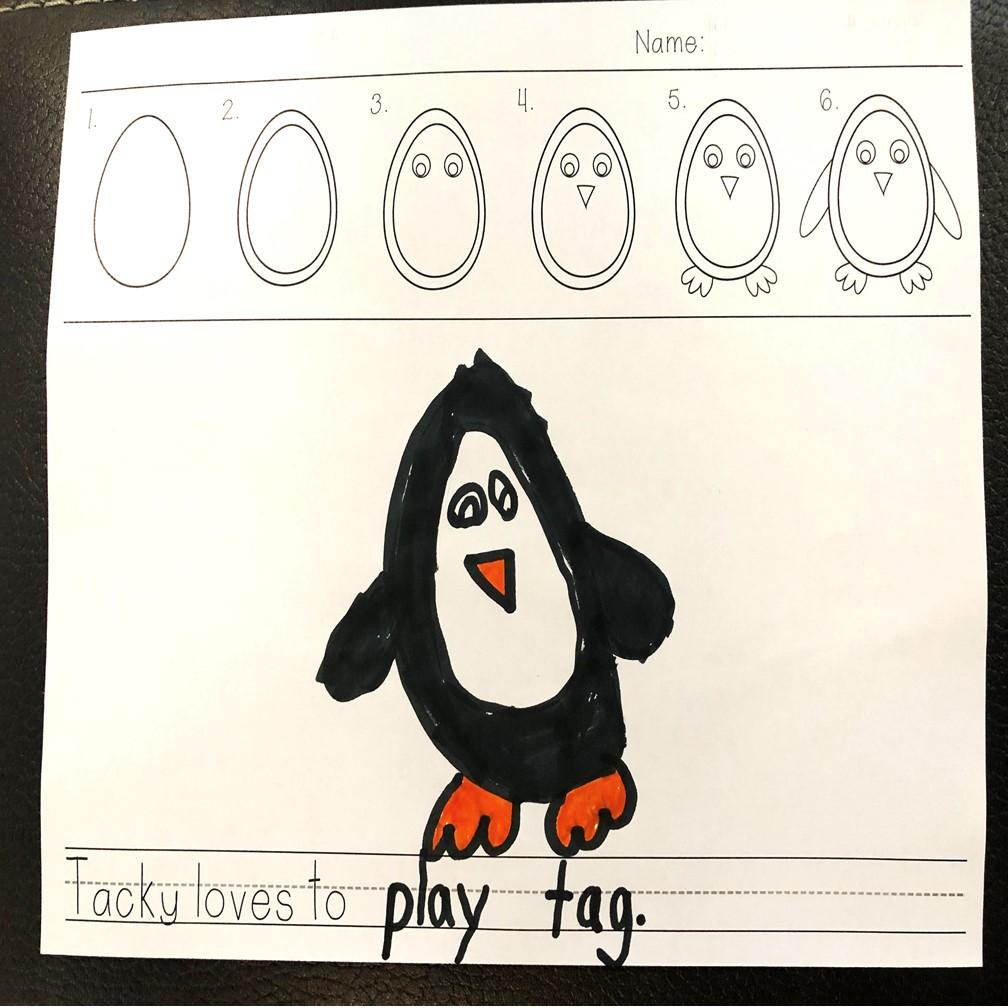 penguin-activities-writing
