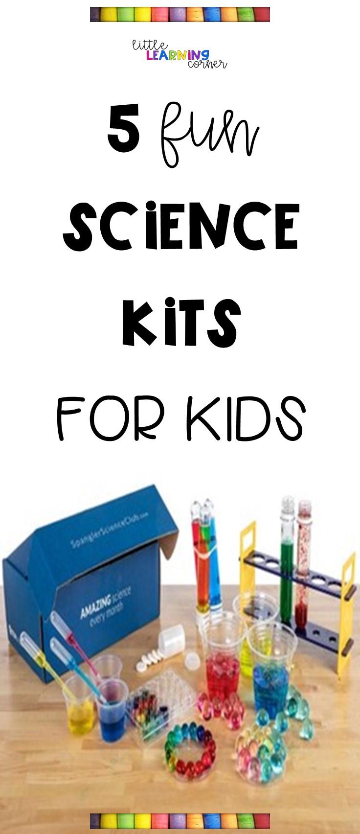 5 Fun Stem Science Kits For Kids Little Learning Corner