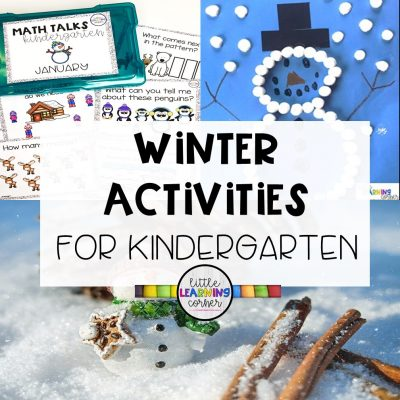 9 Winter Activities for Kindergarten