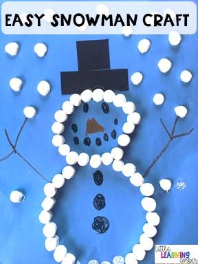 winter-activities-snowman-crafts