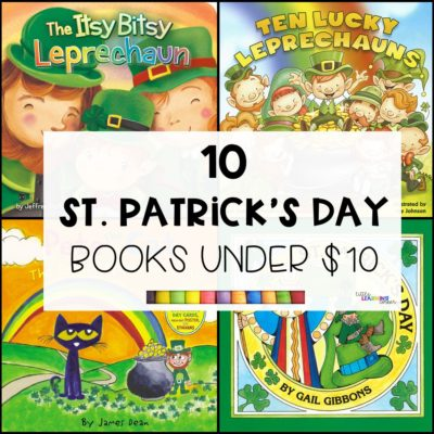 10 St. Patrick's Day Books for Kids Under $10