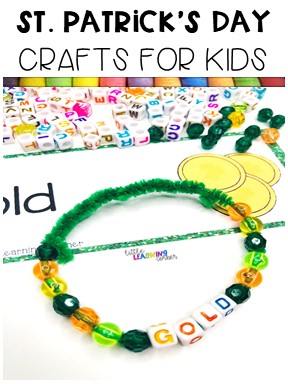 st-patricks-day-carfts-for-kids-bracelet-pin