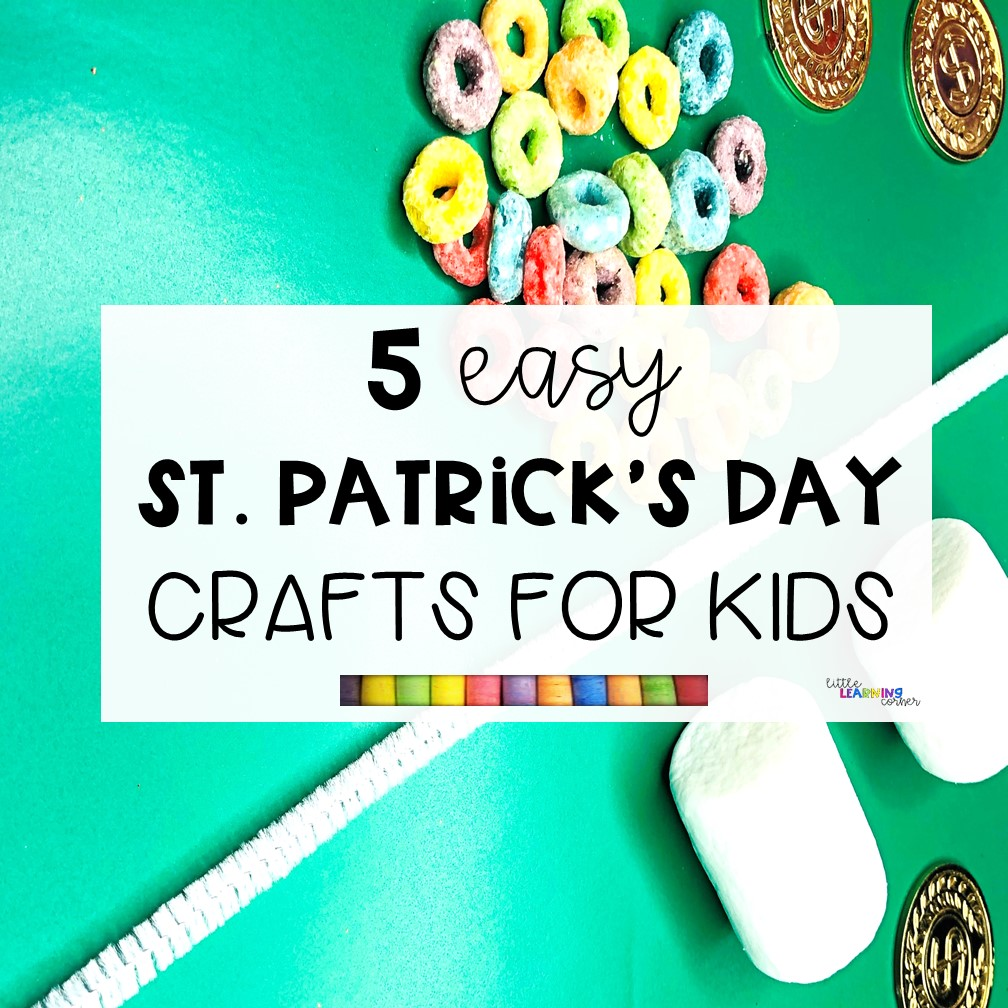 5 Easy St Patrick S Day Crafts For Kids Video Little Learning