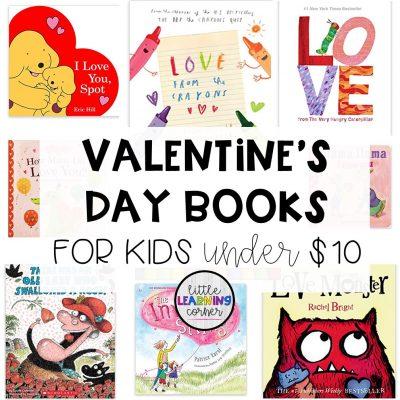 25 Valentines Books for Kids under $10