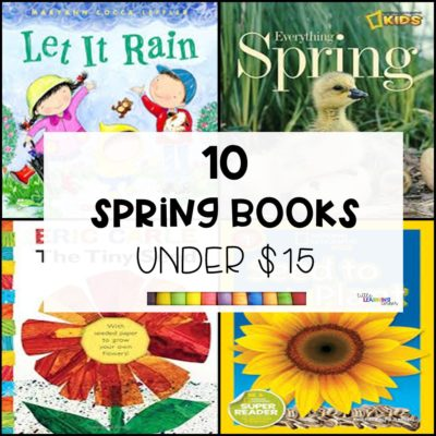 10 Books About Spring under $15