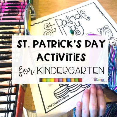 8 Fun St. Patrick's Day Activities for Kindergarten