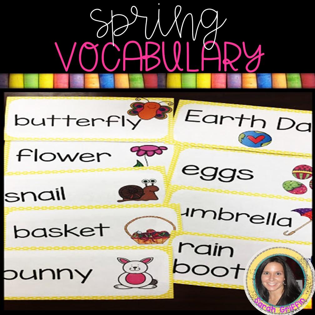 spring-activities-vocabulary