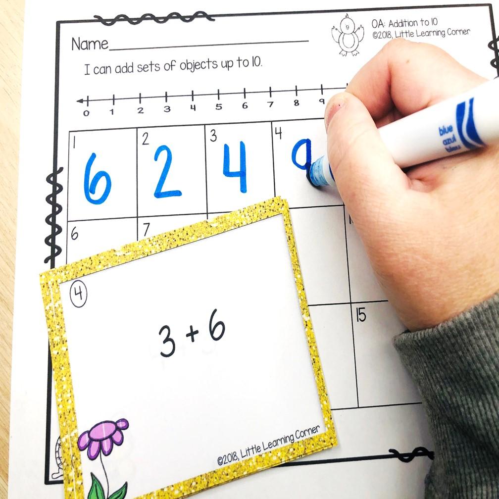spring-activities-for-kindergarten-addition