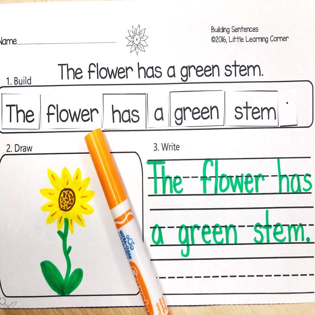 spring-activities-for-kindergarten-building-sentences-3