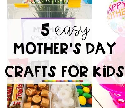 5 Easy Mother's Day Crafts for Kids (VIDEO)