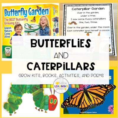 Butterflies and Caterpillars: Books, Poems, and Activities for Kids