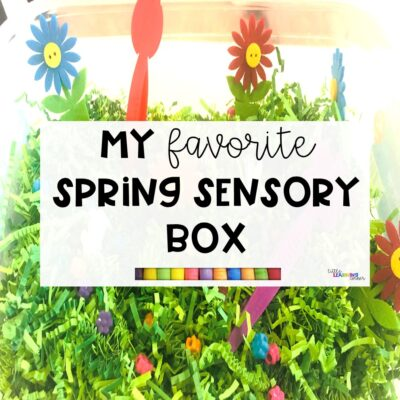 My Favorite Spring Sensory Box for Kids (VIDEO)