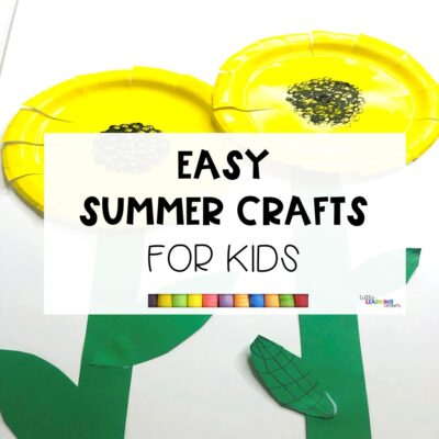 5 Easy Summer Crafts for Kids (VIDEO)