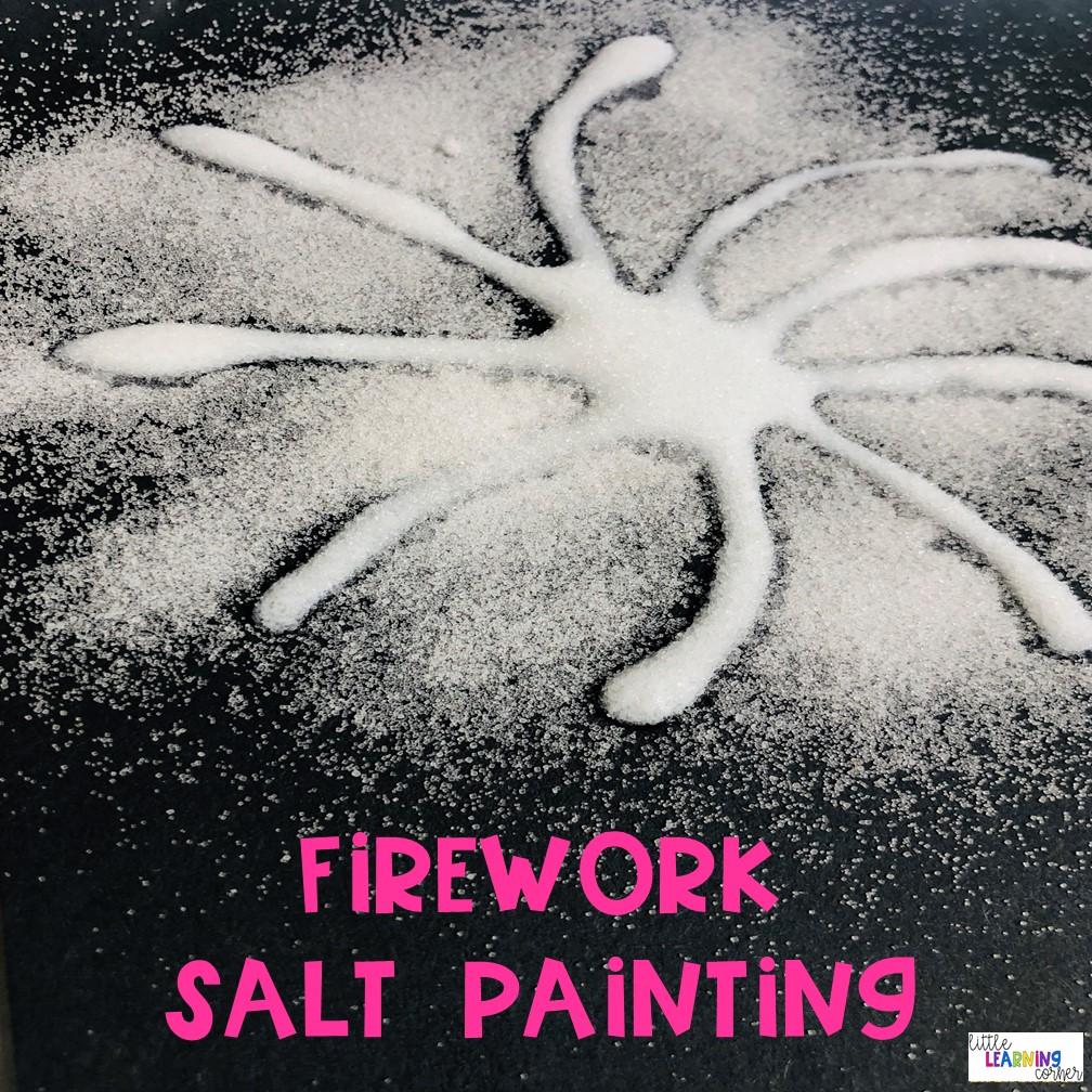 summer-crafts-for-kids-firework-salt-2