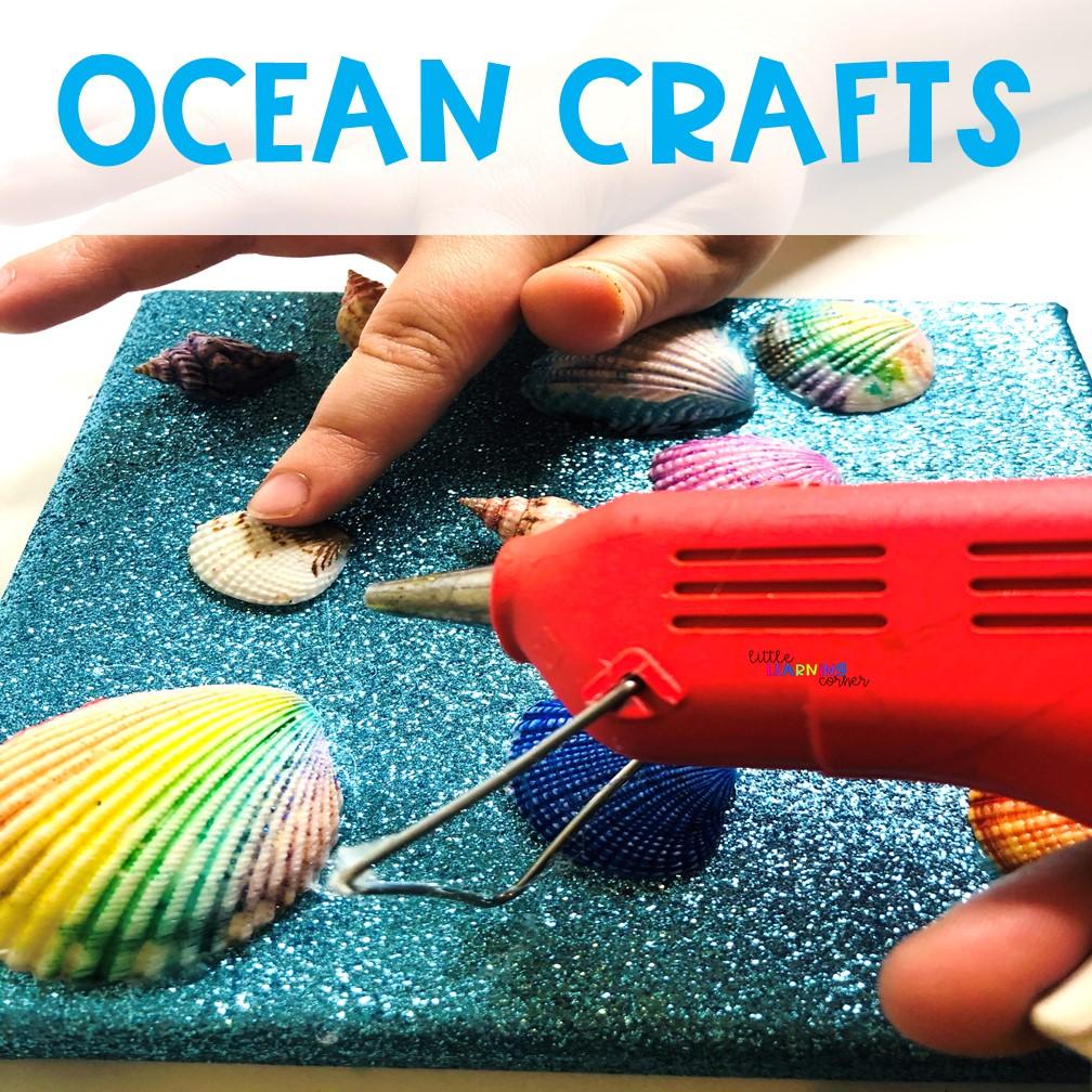 summer-crafts-for-kids-ocean-seashells