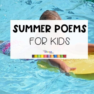 3 Summer Poems for Kids