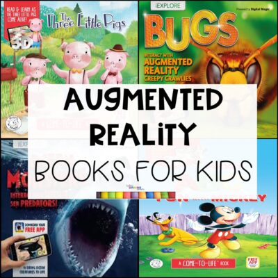 15 Augmented Reality Books for Kids (VIDEO)