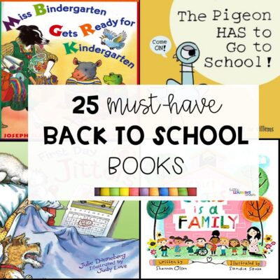 25 Must-Have Back to School Books (Ages 4-9)