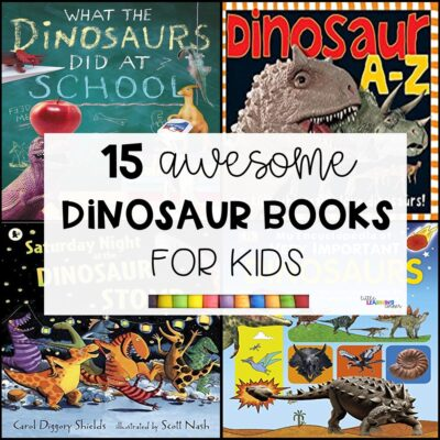 15 Awesome Dinosaur Books for Kids