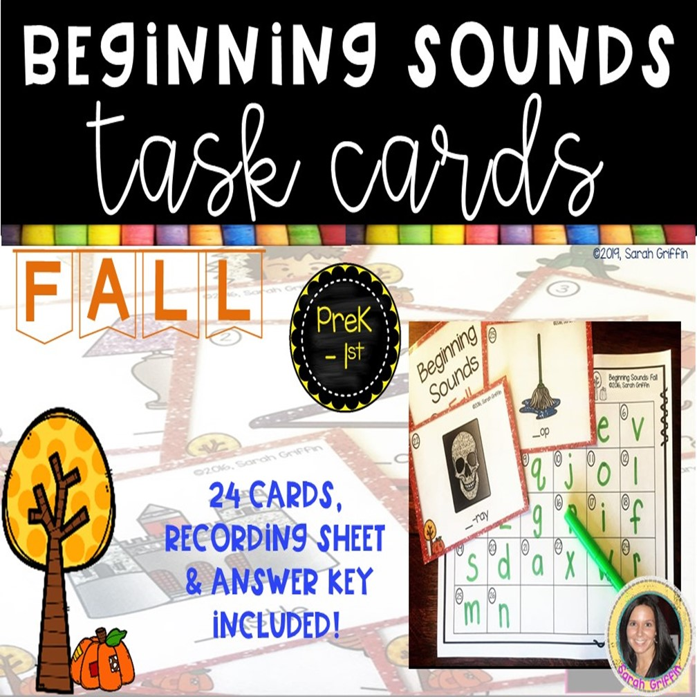 beginning-sounds-fall-task-cards-cover
