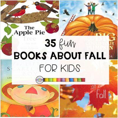 35 Fun Books About Fall