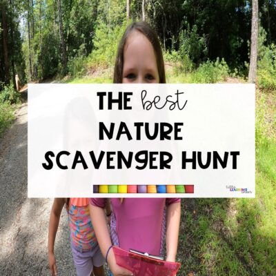 The Best Nature Scavenger Hunt for Kids