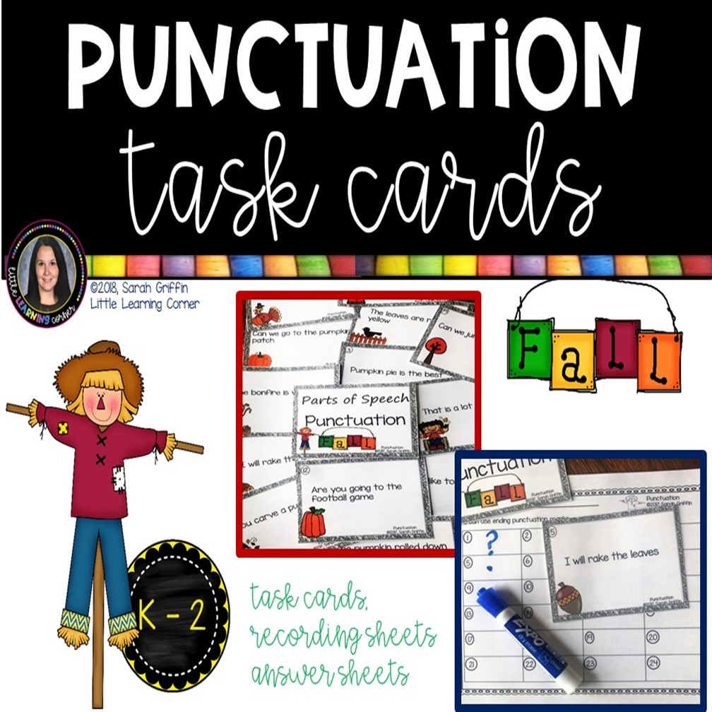 punctuation-marks-task-cards-fall-cover